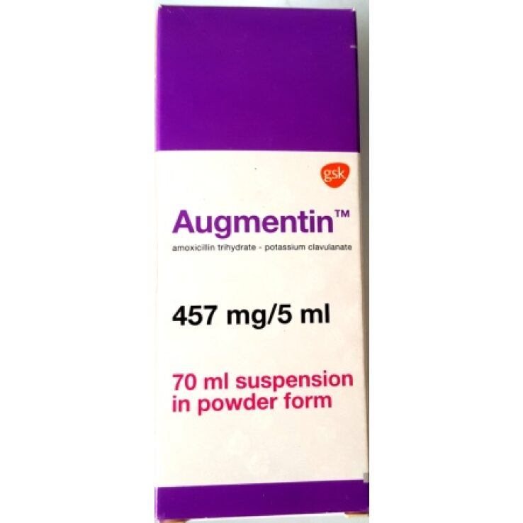 AUGMENTIN 457MG SUSPENSION