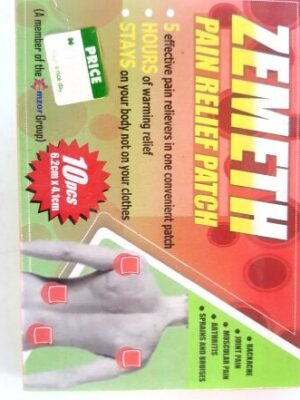 ZEMETH PAIN RELIEF PACTH