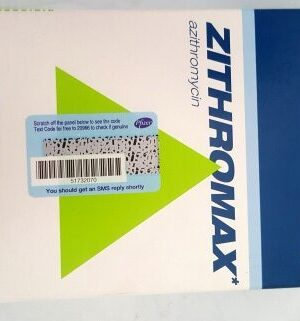 ZITHROMAX POWDER FOR ORAL SUSPENSION