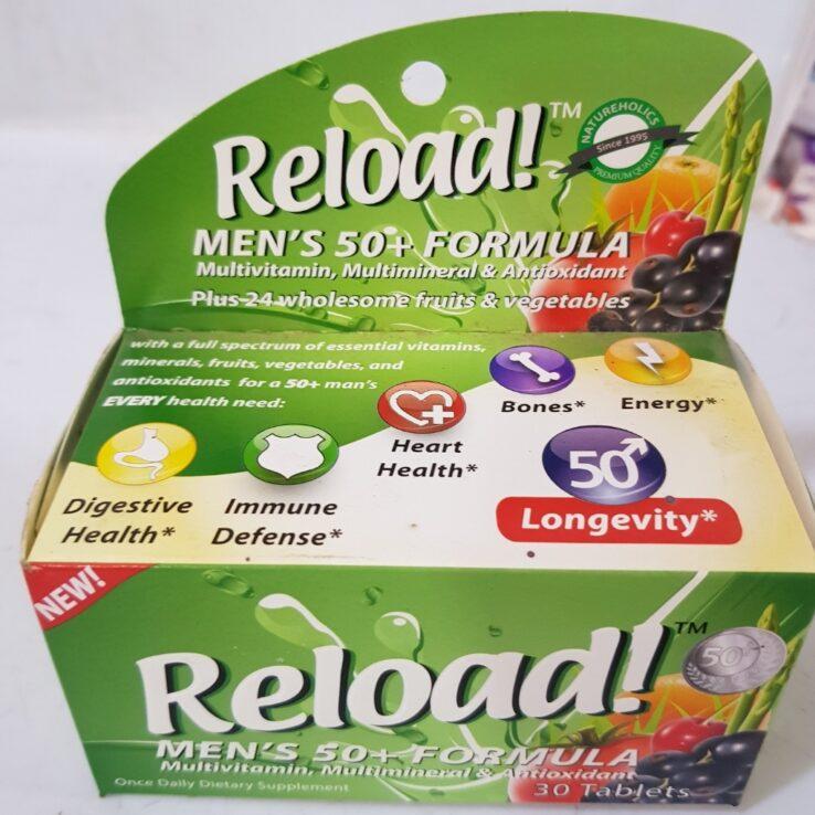 RELOAD FORMULA FOR MEN 50+ X30