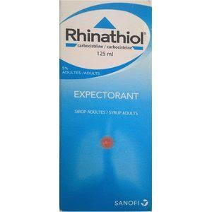 RHINATHIOL EXPECTORANT CARBOCISTEINE 5% SYRUP FOR ADULTS