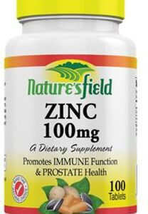 NATURE'S FIELD ZINC 100MG