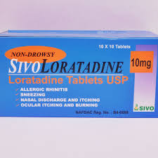 SIVOLORATADINE 10MG