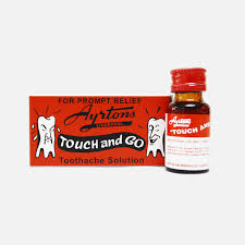 TOUCH AND GO TOOTHACHE SOLUTION