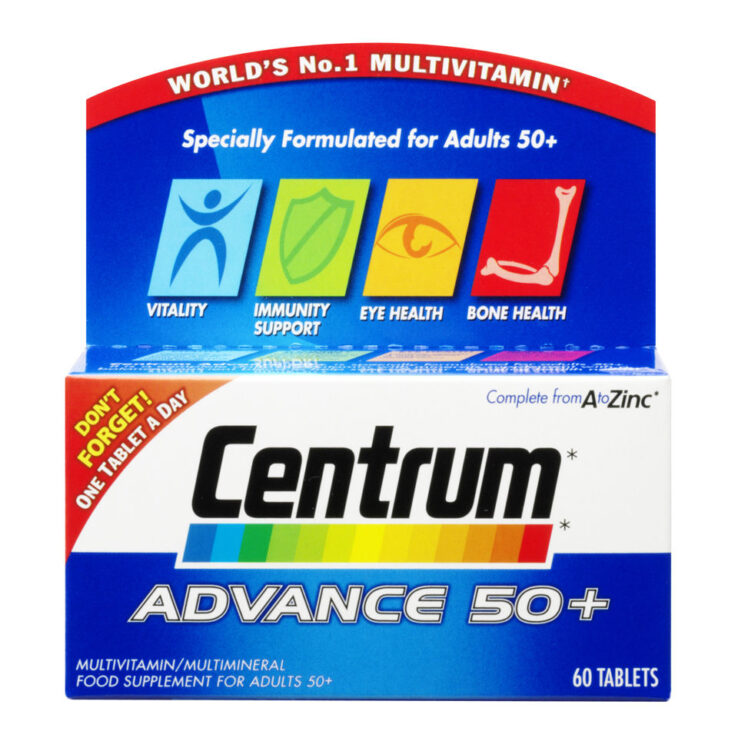 CENTRUM ADVANCE 50+ X60