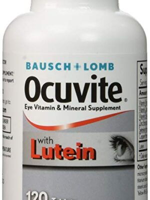 BAUSCH +LOMB OCUVITE TABLETS X120