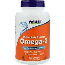 OMEGA 3, MOLECULARLY DISTILLED SOFTGELS