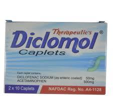 DICLOMOL CAPLETS