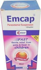 EMCAP PARACETAMOL SUSPENSION