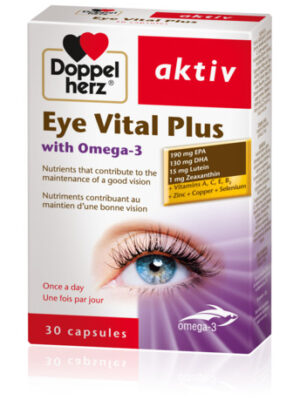 DOPPEL HERZ AKTIV EYE VITAL PLUS WITH OMEGA 3