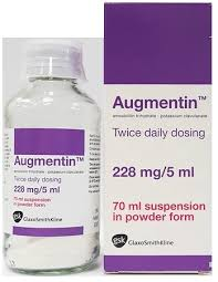 AUGMENTIN 228MG SUSPENSION