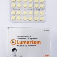 LUMARTEM (Artemether 20 mg & Lumefantrine 120mg  x24 Tablets