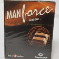 MANFORCE CONDOMS Chocolate Favoured Pack of 3 Condoms