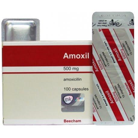 AMOXIL CAPSULES 500 MG