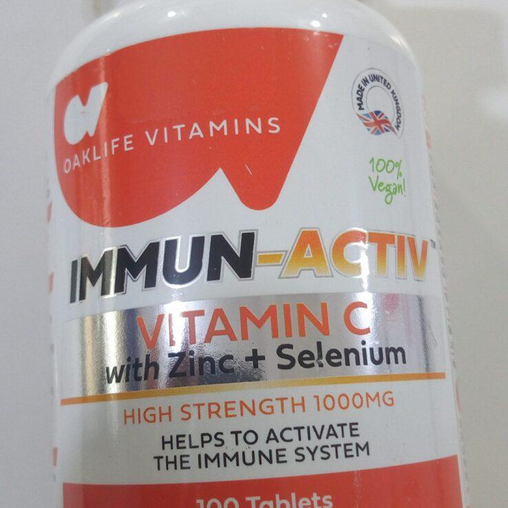 IMMUN-ACTIV~Vitamin C, Zinc + Selenium