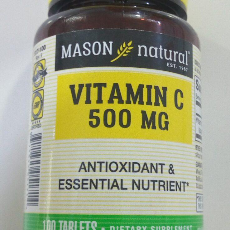 Mason Vitamin C 500mg
