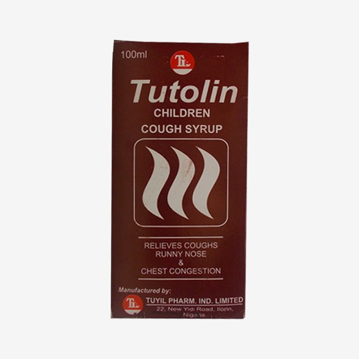 Tutolin Children Cough Syrup