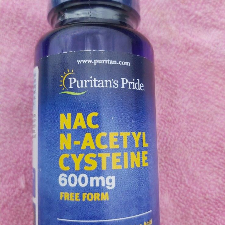 N-ACETYL CYSTEINE (NAC) PURITAN'S PRIDE