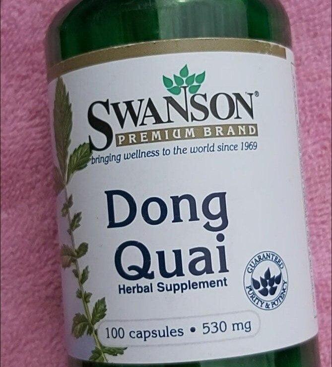 SWANSON DONG QUAI 530MG CAPSULES