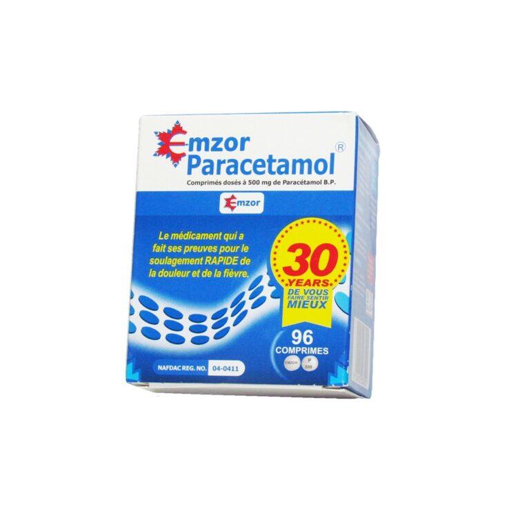 Emzor Paracetamol Tablet 500mg