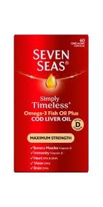 Seven seas cod liver oil max strength