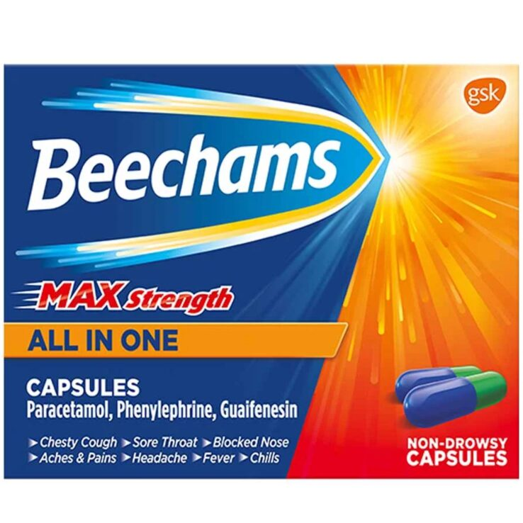 Beechams max strength all in one (gsk) x16