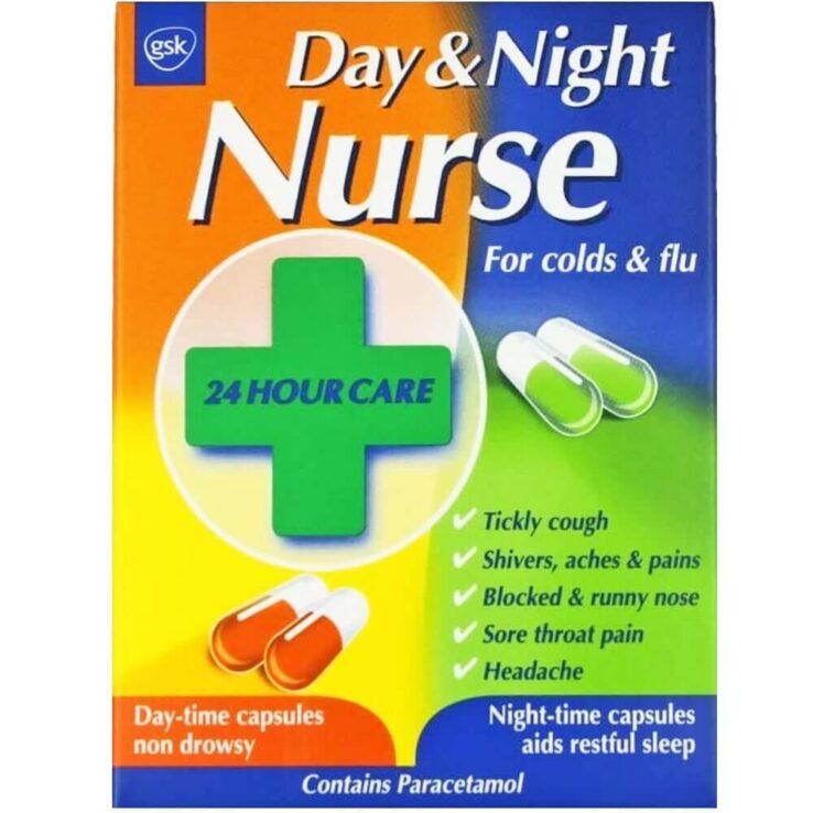 Day & Night Nurse gsk