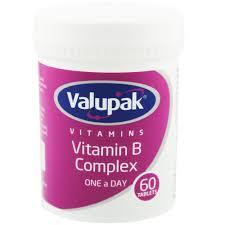 Valupak Vitamin B complex one a day x60
