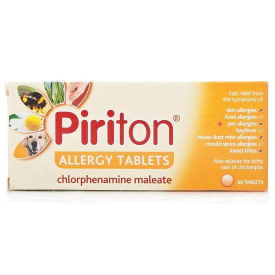 Piriton Allergy tabs (gsk) 30tabs