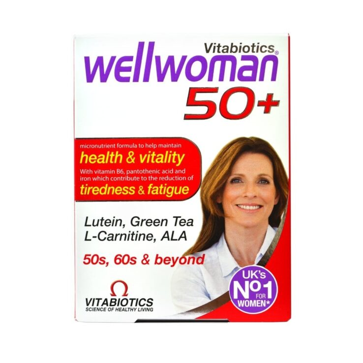 WellWoman 50+ vitabiotics