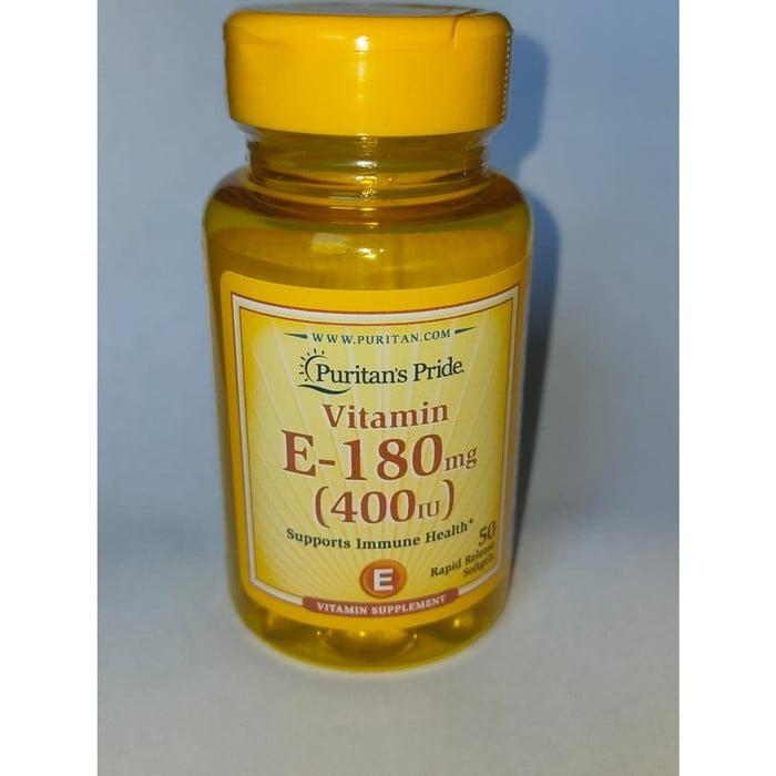 Puritan's Pride Vitamin E-180mg (400iu)*50