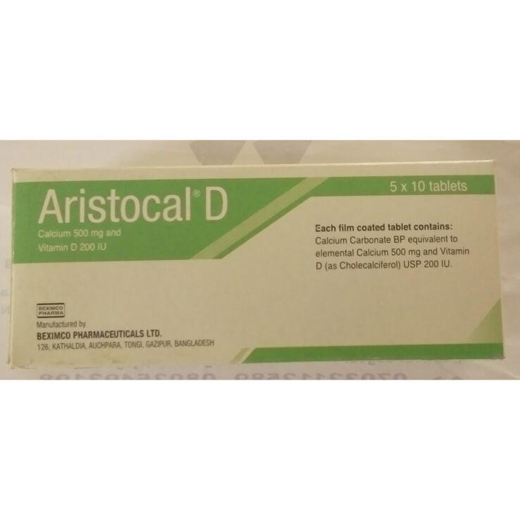 Aristocal D *50tabs