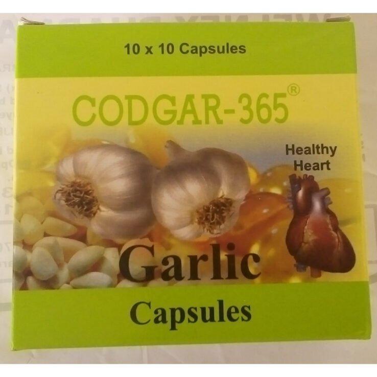 Codgar-365 GARLIC Capsules