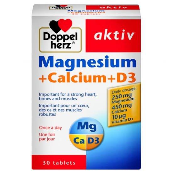 Doppel herz Magnesium+Calcium+D3