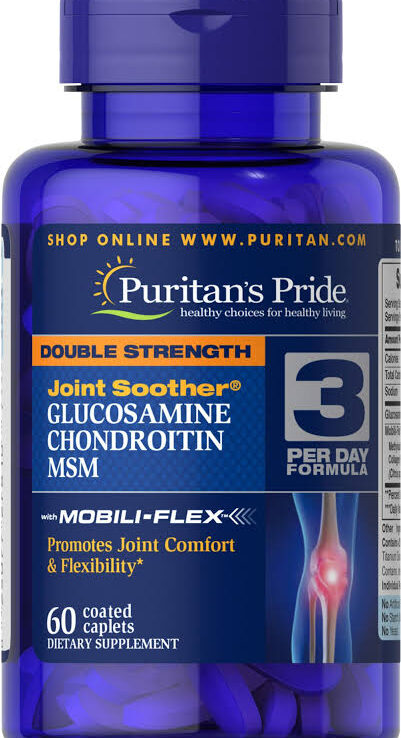 Puritan's Pride Double Strength Joint Soother *60