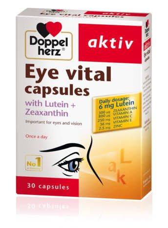 Doppel herz aktiv Eye vital capsules