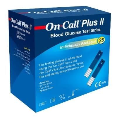 On Call Plus II Strips