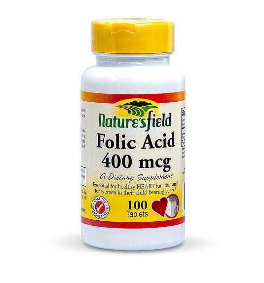 Nature'sfield Folic Acid 400mcg