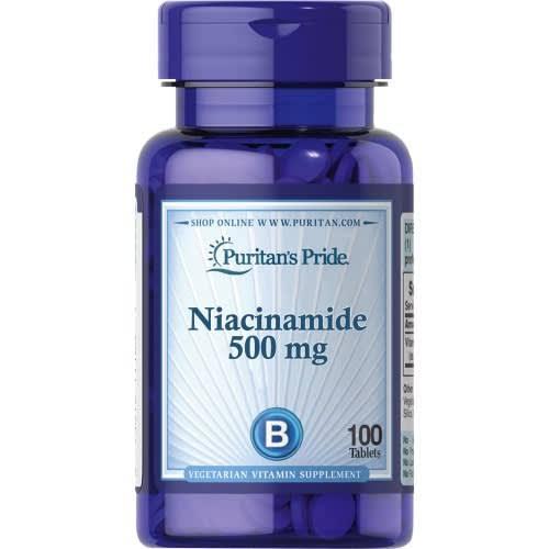 Puritan's Pride Niacinamide 500mg