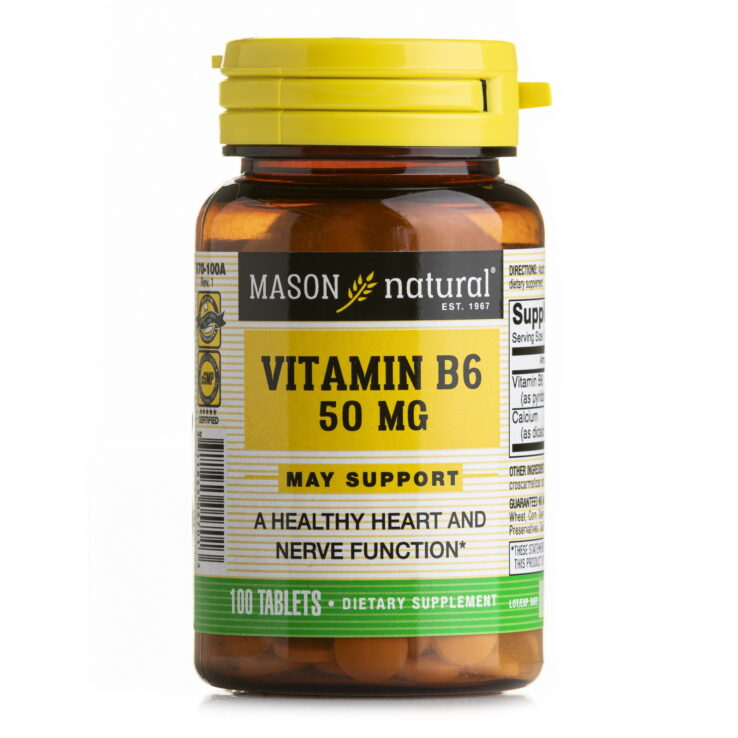 Mason VITAMIN B6 (50mg)