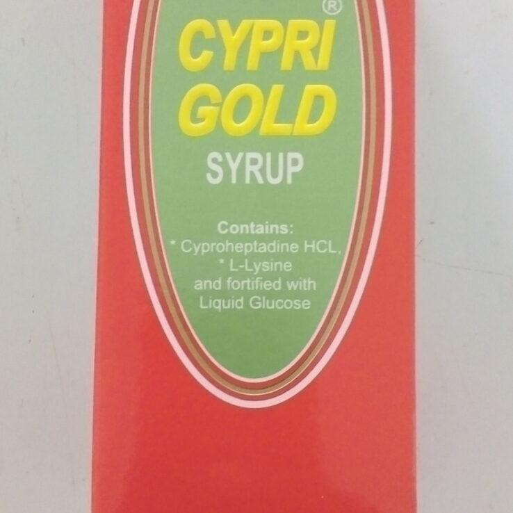 CYPRI GOLD SYRUP 100ML