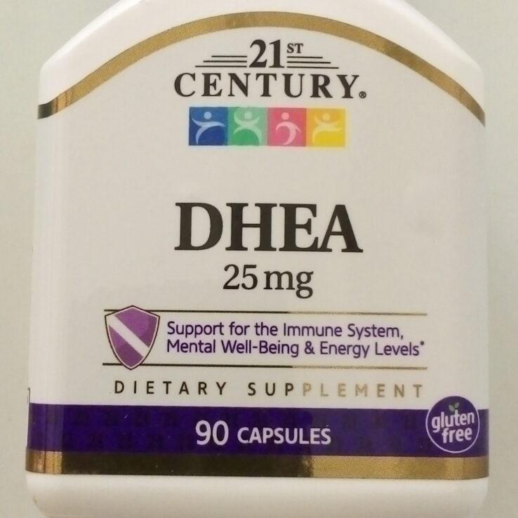 21st Century DHEA 25mg
