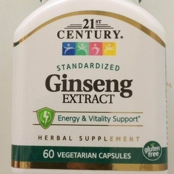 21st Century Ginseng Extract Capsule
