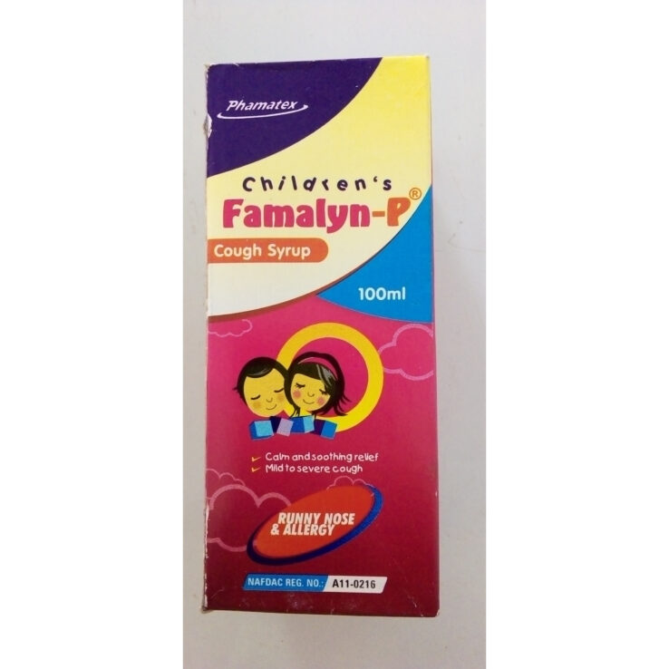 Children Famalyn-P cough syrup