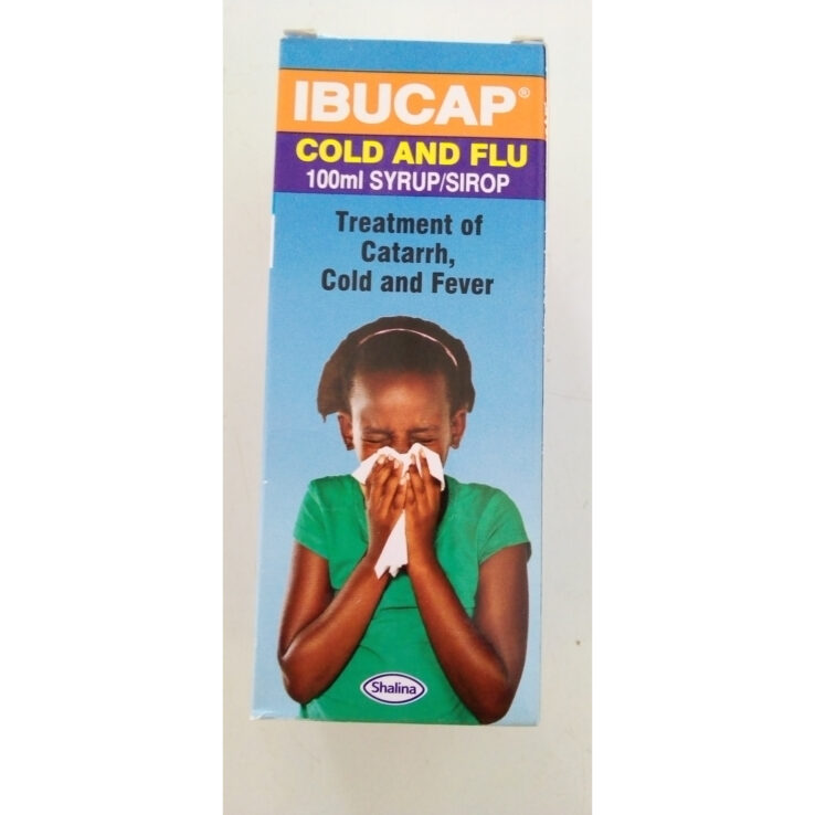 IBUCAP COLD AND FLU SYRUP