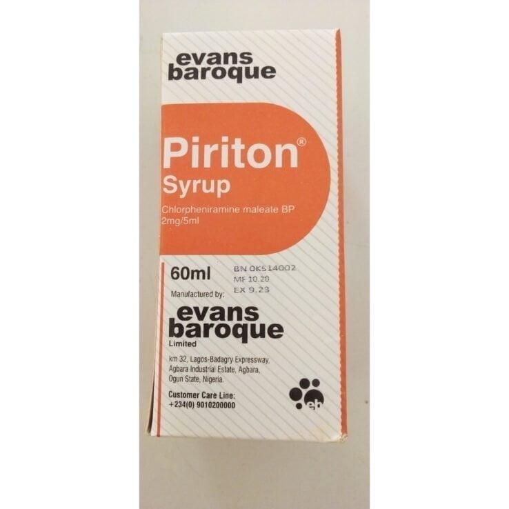 Piriton Syrup 60ml