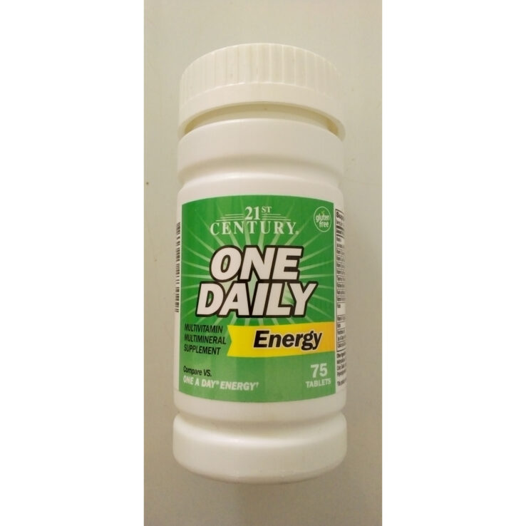 21st Century ONE DAILY ENERGY TABLET