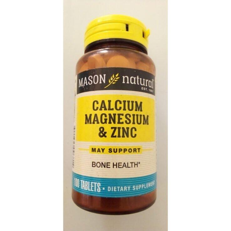 Mason CALCIUM, MAGNESIUM & ZINC Tablet