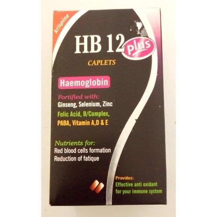 Krispine HB 12 Plus Caplets