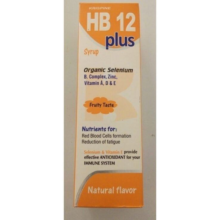 Krispine HB 12 Plus Syrup